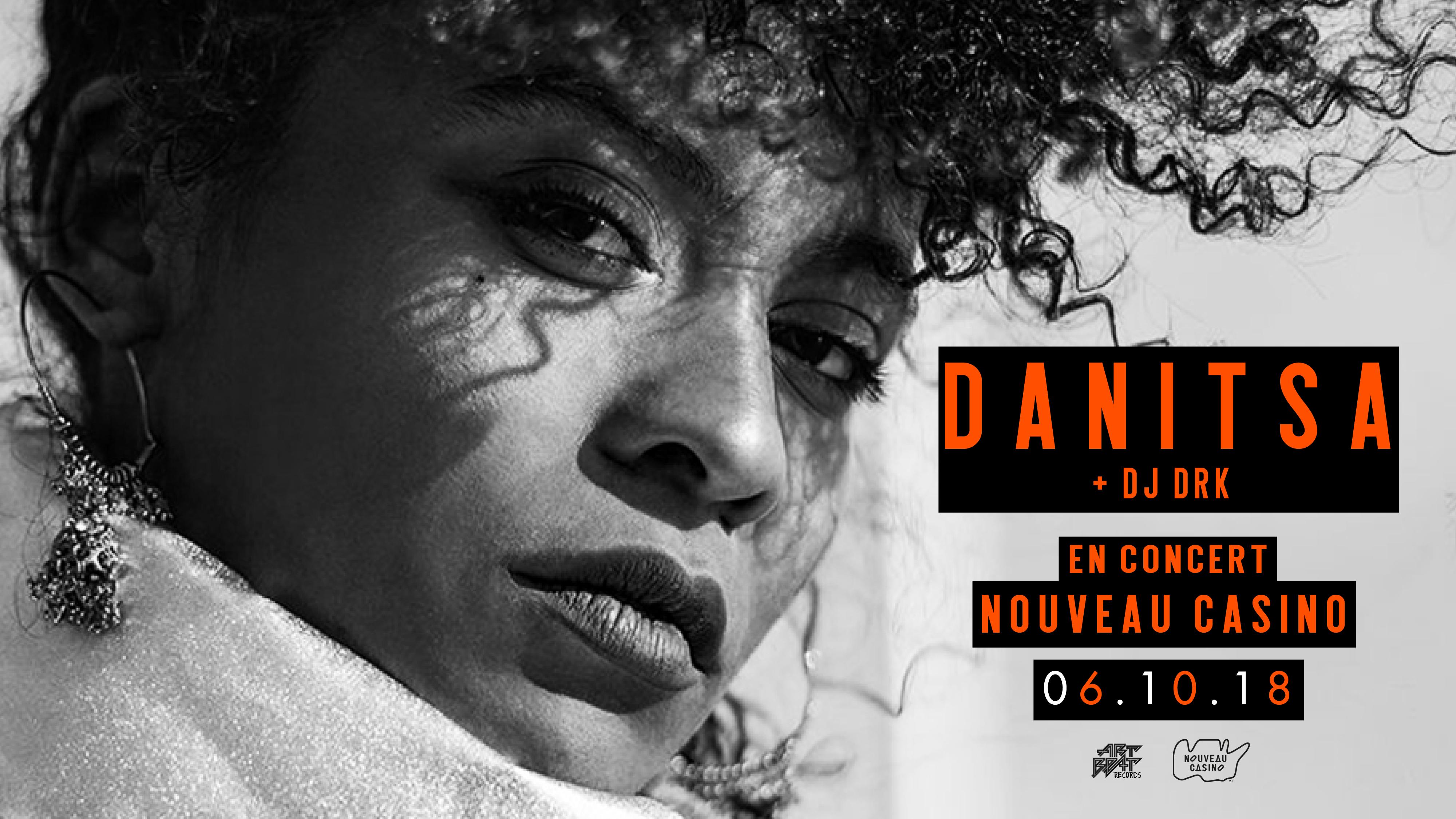 Danitsa au Nouveau Casino - Paris