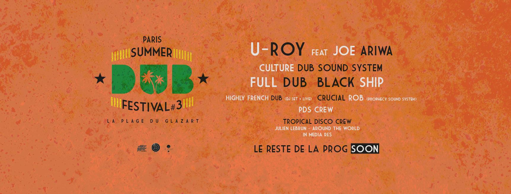 Summer Dub Festival #3 été 2018 – La Plage du Glazart